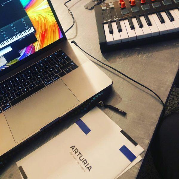composer de la musique, créer des morceaux